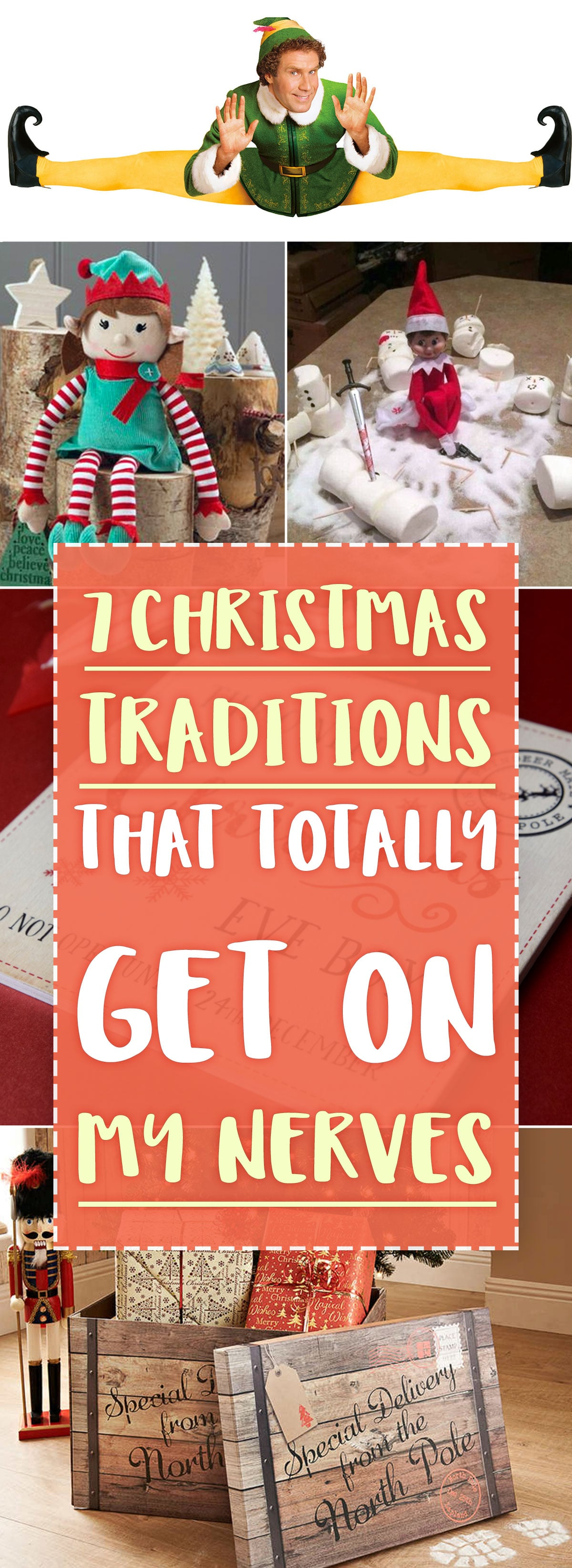 Christmas traditions nerves for pinterest