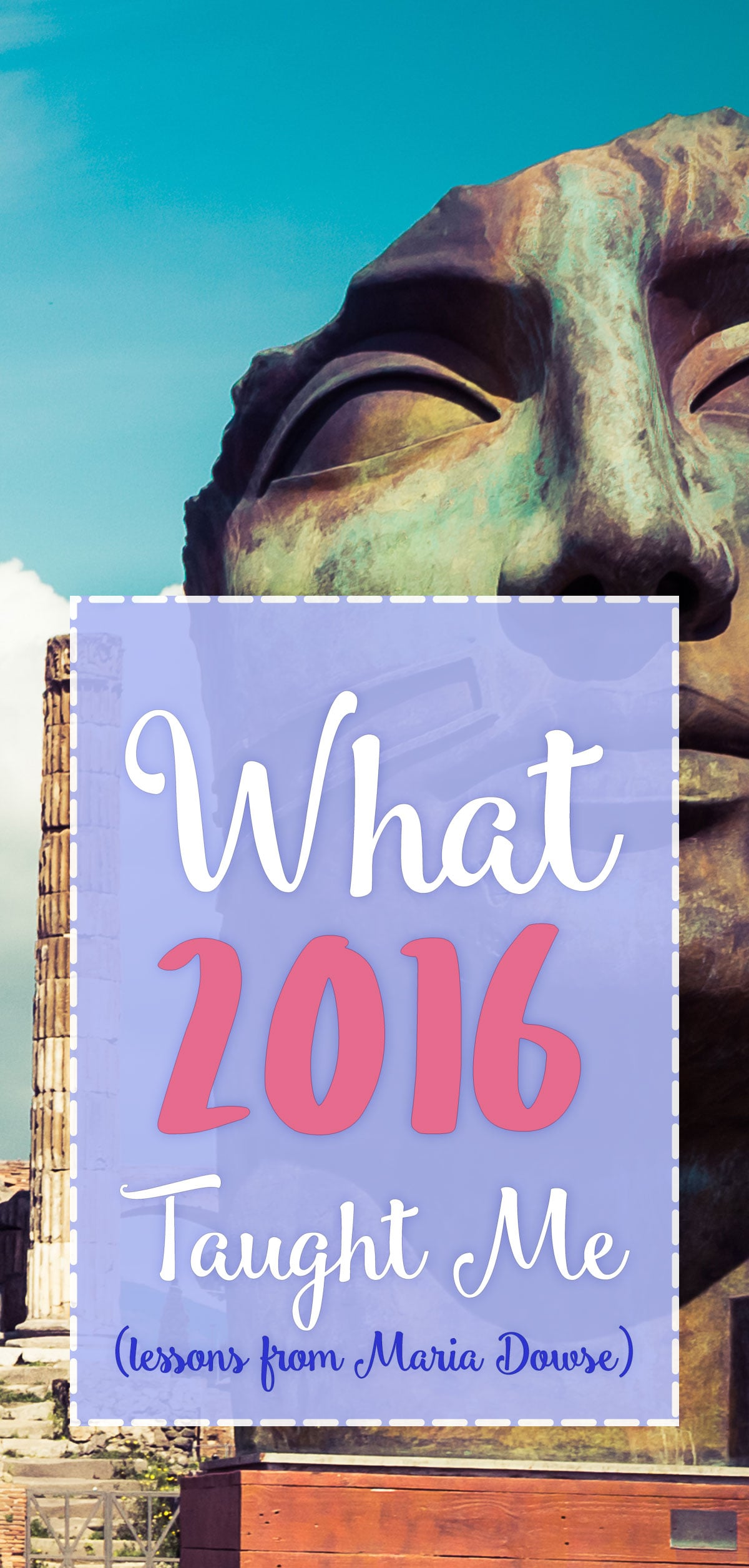 What 2016 Taught Me - Pinterest
